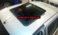 Электрический люк H300 Comfort. Установка на Renault Sandero